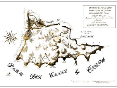 Παλιός χάρτης Ερημίτη, Κέρκυρα