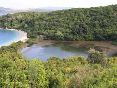Λίμνη Άκολη, Ερημίτης Κέρκυρα